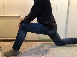 足底筋膜炎のストレッチ1